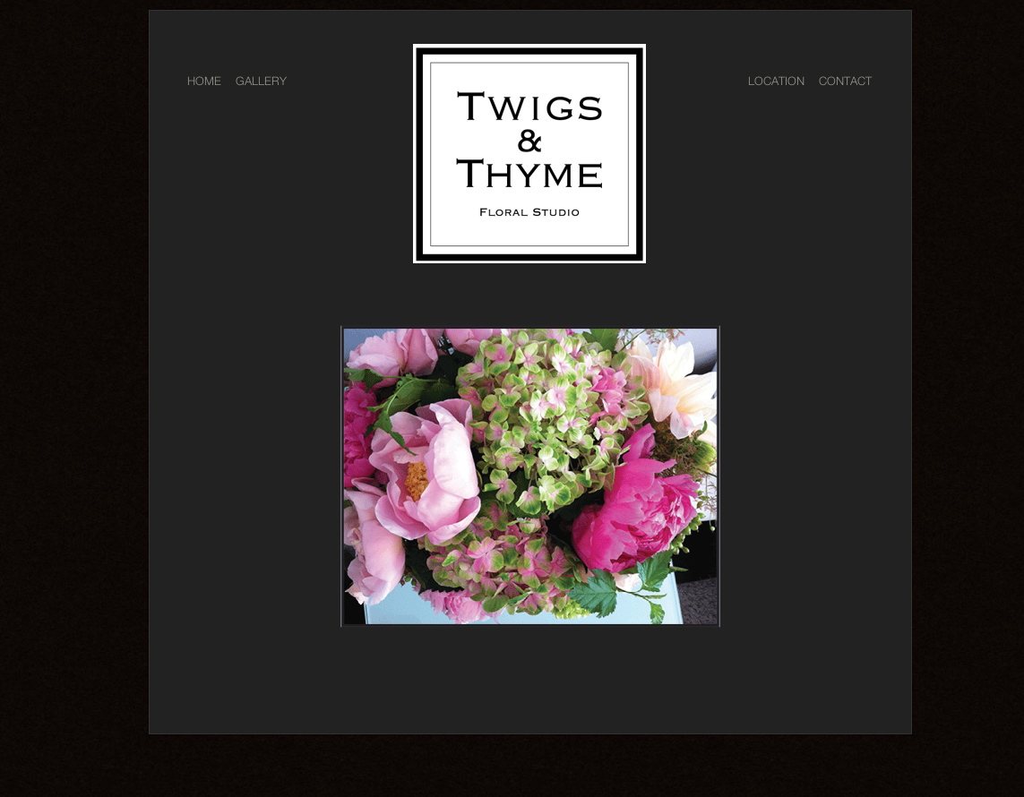 Twigs & Thyme site